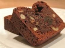 Brownies al Cioccolato e Frutta secca