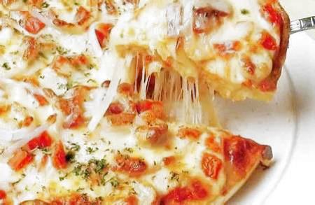 Pizza con Pomodorini e Patate