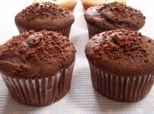 Muffin al cacao facili e veloci