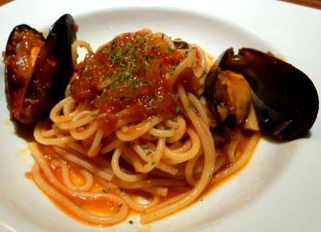 Pasta Spaghetti con le cozze