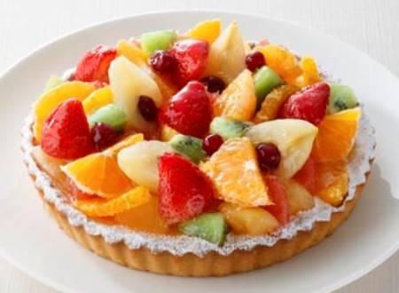 Torta crostata alla frutta