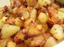 Patate e pancetta