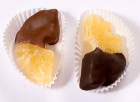 Ananas glassato al Cioccolato