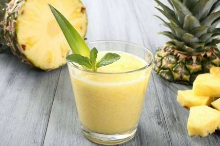 Crema di ananas dessert