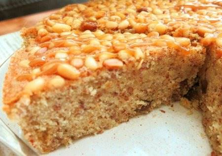 Torta sbriciolata di Mandorle