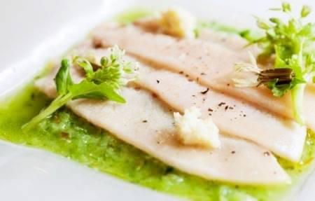 Carpaccio di pesce spada agli agrumi