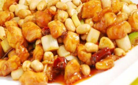 Pollo alle mandorle, ricetta cinese
