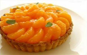 Crostata di mandarini o clementine