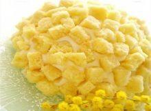 Torta Mimosa per la festa della donna